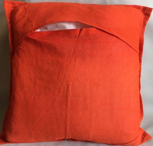 "Cushion Covers 16x16/"" Indian Heavy cotton Patchwork Square Stripes 40cm elephant"