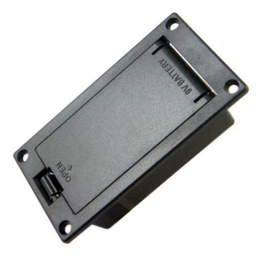 2pcs Gitarre Batteriehalter BatterieKasten Kasten Case Box 9 Volt für