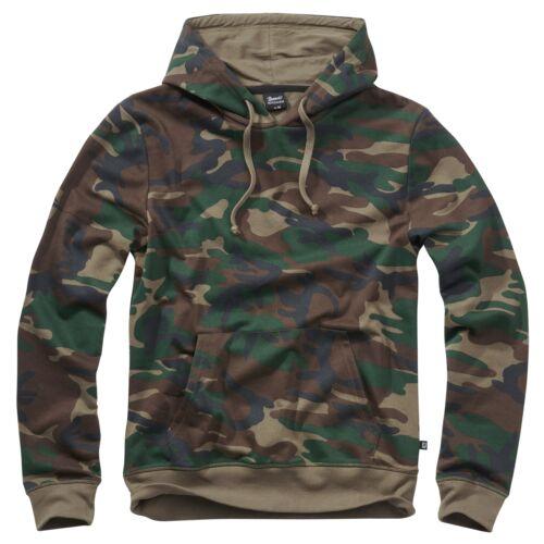Brandit Sweat Veste à Capuche Pull Camouflage Camo Armée plein Air Pull