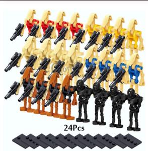 24-Pcs-Minifigures-Star-Wars-Character-Battle-Droid-Clone-Trooper-Robot-Lego-MOC