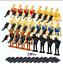 24-Pcs-Minifigures-Star-Wars-Character-Battle-Droid-Clone-Trooper-Robot-Lego-MOC miniature 1