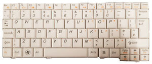 Lenovo P//N 25-008460 New Lenovo IdeaPad S10-2 White UK Qwerty Laptop Keyboard