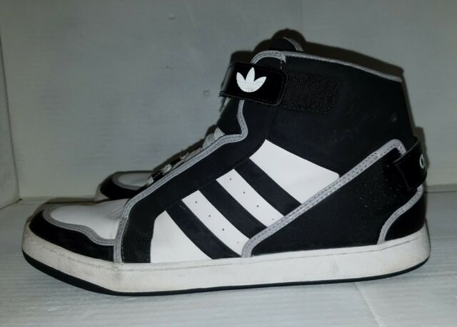 vente chaude en ligne 9c79c af4d3 Rare Adidas Mens AR 3.0 Originals SZ 13 White/Black Leather Q32627 Excellent
