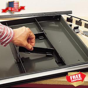 Craftsman Divider Storage System Box /& Bin Drawer Tool /& Parts Organizer Black