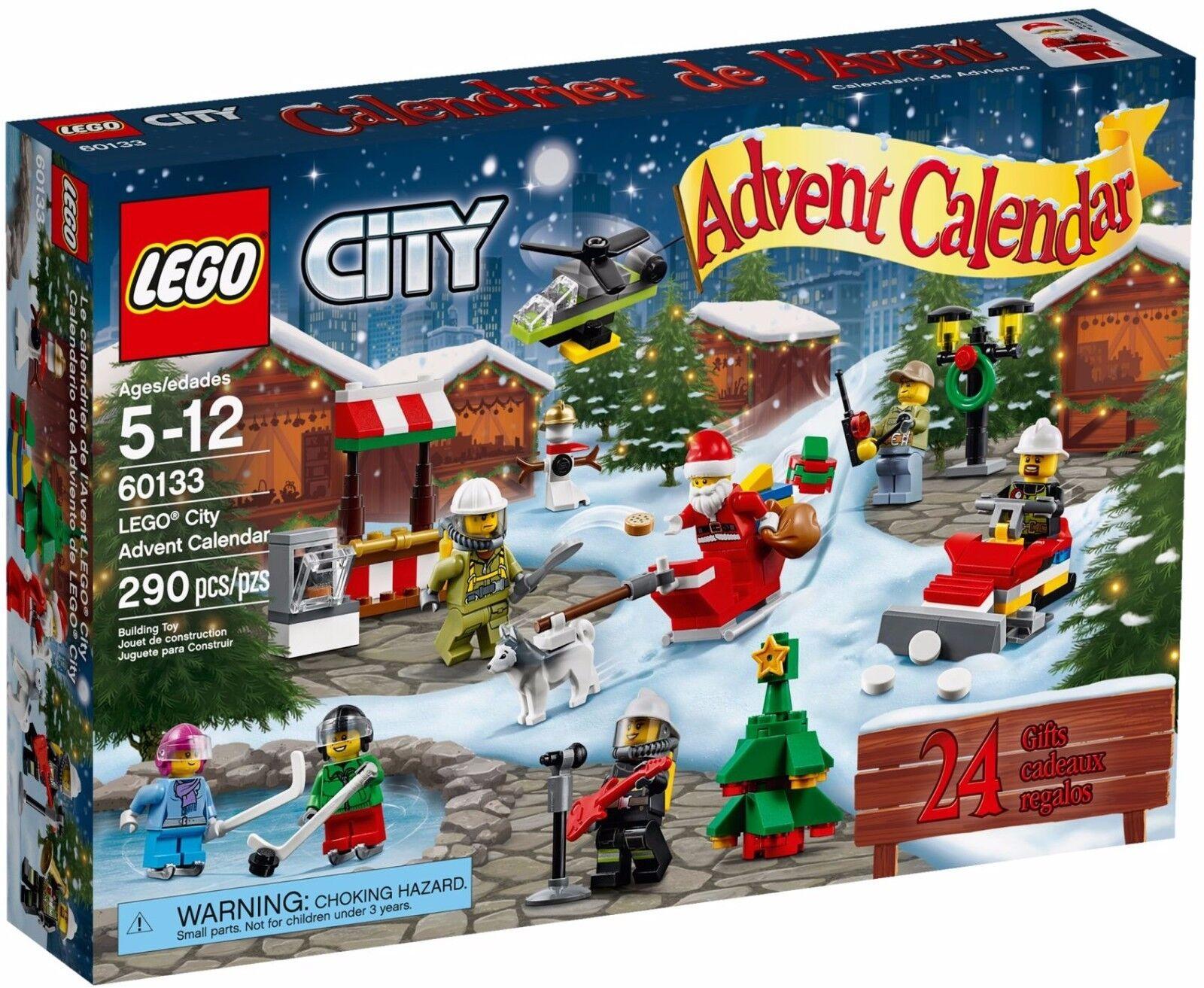 LEGO City 2016 Christmas Advent Calendar BNIB RARE NLA