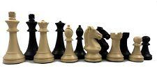 Cavalier Staunton Triple Weight Plastic Tournament Chess Set