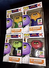 SDCC 2015 EXCLUSIVE FUNKO POP! HANNA BARBERA LIL' GRUESOME ALL COLOR VARIANT SET