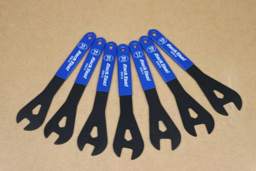 18 15 17 16 Details about  /NEW Park Tool SCW-SET 13 14 19 Professional Shop Cone Wrenchs