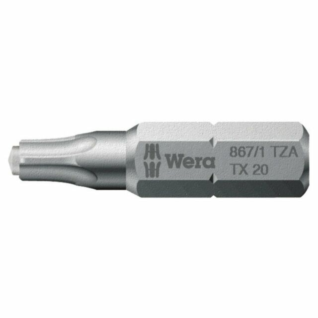 TORX TX10 TX15 TX20 TX25 TX30 TX40 ELECTRIC SCREWDRIVER INSERT DRILL BITS 25mm