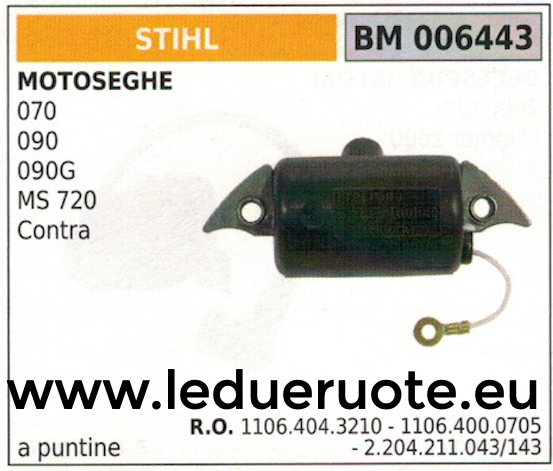 Vergasermembrankit Tillotson für Stihl 070 090 Contra