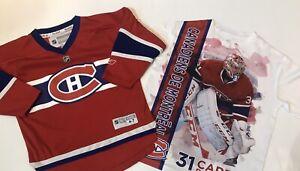Reebok-Montreal-Canadians-Child-4-7T-NHL-Jersey-amp-Carey-Price-T-Shirt