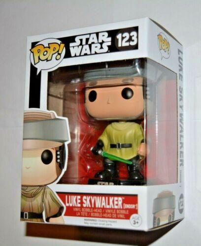 Endor Star Wars // Luke Skywalker Nr.123 Vinyl-Sammelfigur ca.10 cm Funko Pop