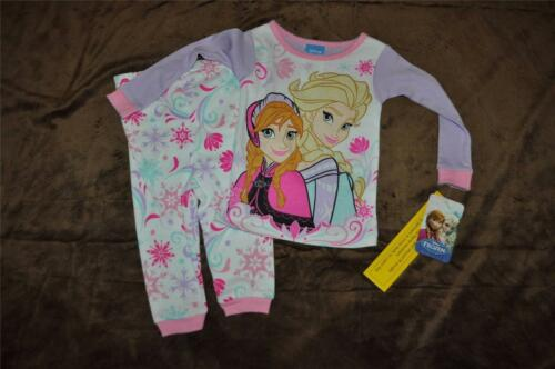 Disney Frozen Elsa /& Anna Baby Infant 12 Months Pajamas Long Sleeve Shirt /& Pant