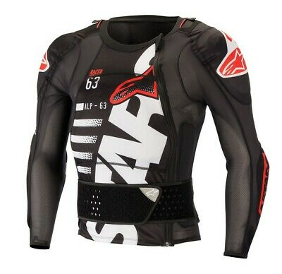 Alpinestars 2019 Sequence MX Motocross Armour Short Sleeve Protection Jacket