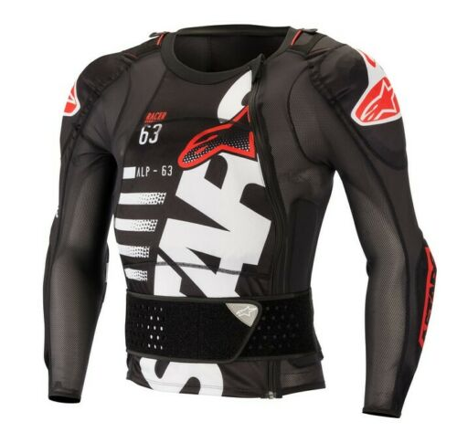 Alpinestars SEQUENCE Long Sleeve Jacket Chest Protector Armour Motocross MX