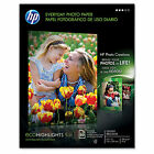 HP Everyday 50 sheet Letter 8.5 x 11-Inch Glossy Photo Paper
