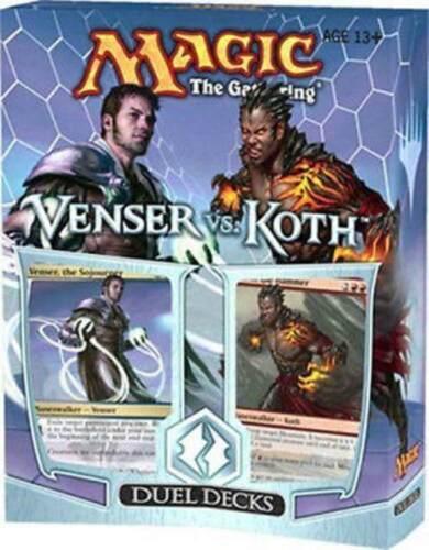 Venser vs Koth Factory Sealed Duel Deck Magic the Gathering MTG