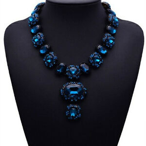 Modeschmuck in blau