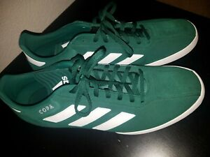 best sneakers 7f98e 476e4 Image is loading Adidas-Copa-Super-Suede-Green-Indoor-Soccer-Shoes-