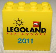 LEGO NEW RARE LEGOREDO LEGOLAND FRIENDORF 2 X 4 X 3 BRICK FROM 2010