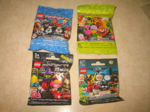 Sealed Mystery Blind Bags U PICK **LOOK** Lego Minifigures Mixed Lots