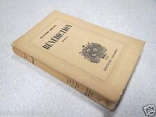 BENEDICTION CLAUDE SILVE ROMAN VIII EDITIONS GRASSET ALFA N° 170/770 ex 1935 *