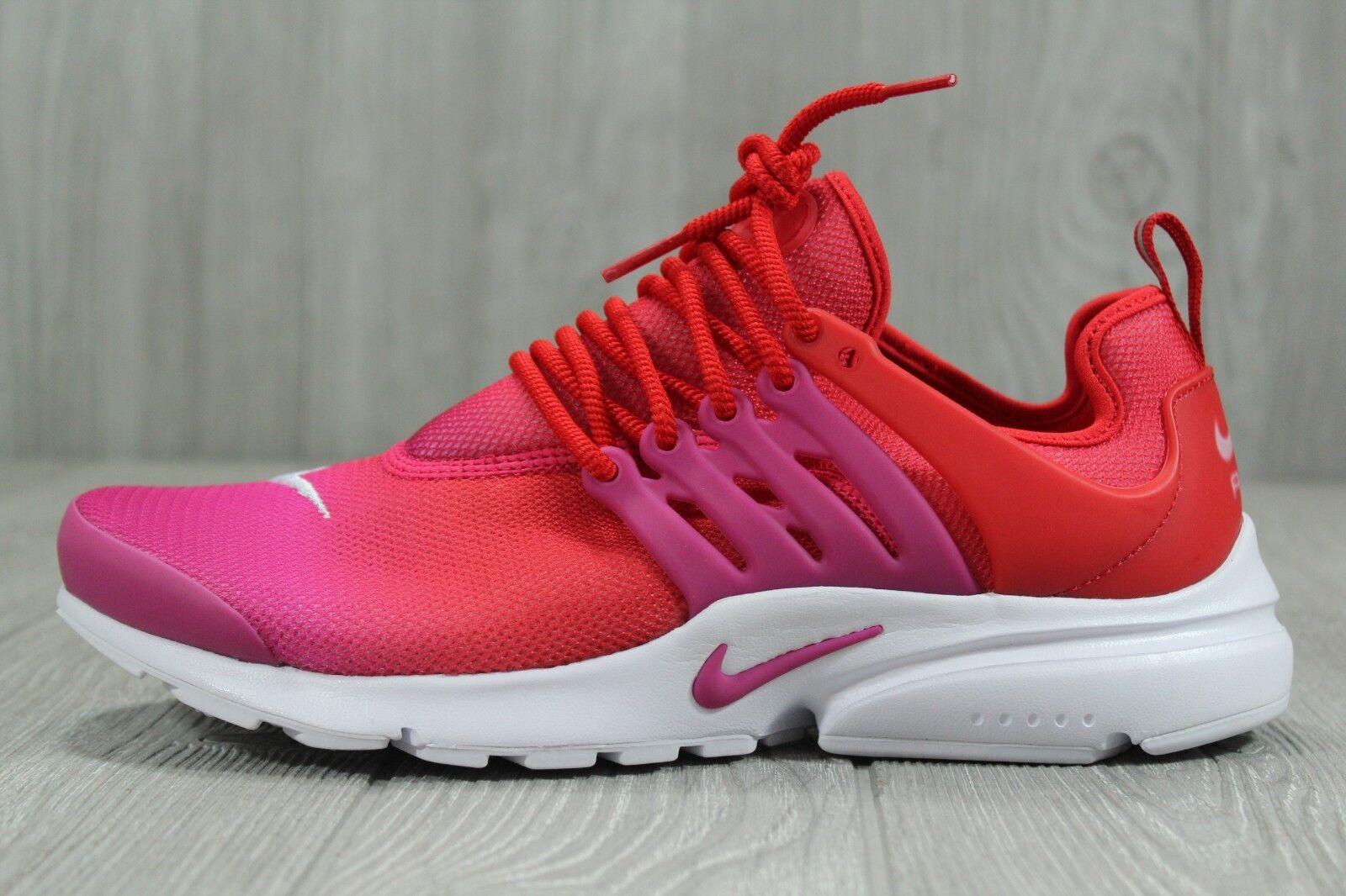 34 Nike Air Presto Running shoes Womens Size 6, 8, 10 Red Fuchsia AR3899-600