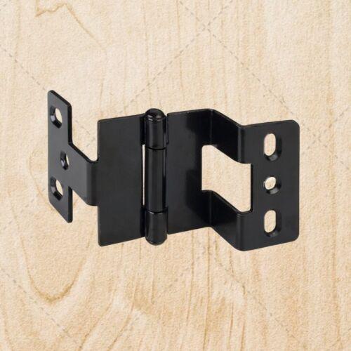 "Furniture Hinges Three Knuckle 270 Deg w// Tip Black 3//4/"" x 3//4/"" hn975"