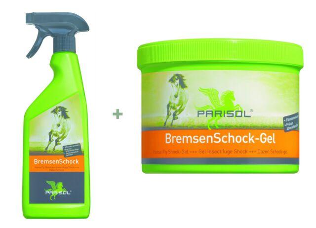 Sparset Parisol BremsenSchock, Fliegenspray+Fliegengel, Fliegenschutz & Zecken