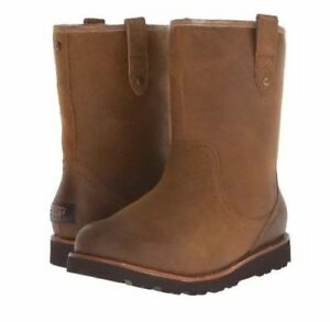 2f217256deb Details about UGG MEN'S STONEMAN TL WATERPROOF BOOTS S/N 1008141 CHESTNUT  SUEDE, SIZE 17, NEW