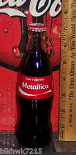 2015 COCA - COLA SHARE A COKE WITH METALLICA 8 OUNCE GLASS COCA - COLA BOTTLE