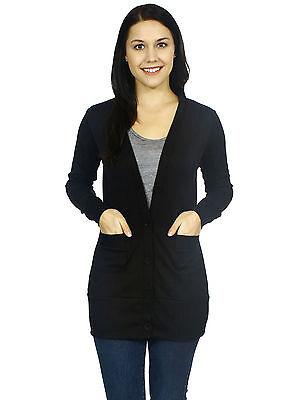 Women Casual Cardigan Knitwear Long Sleeve Knit Sweater Coat Jumper Outwear Tops
