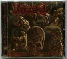 CD metal BLOODSOAKED : Brutally butchered / Comatose 2007