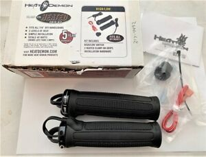 "Heat Demon Snowmobile ATV Heated 7//8/"" Grip Kit with High//Low Switch 215049"