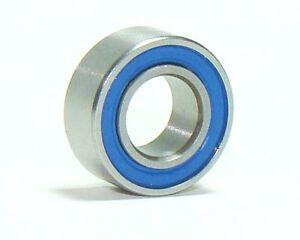 Dual-Rubber-Sealed-Bearings-4x8-x3mm-10-pcs-KYOSHO-LOSI-TAMIYA-YOKOMO-TRAXXAS