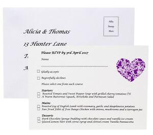 Personalised-Wedding-RSVP-Menu-Cards-Return-Envelopes-Different-colours
