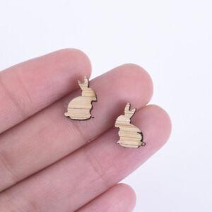 12-8mm-Rabbit-Wood-Charm-Earring-Supplies-Wood-Cabochons-Ear-Stud-6pcs-10261169