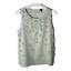 thumbnail 1 - Ann Taylor Womens Top Petite Size LP Sleeveless Scoop Neck Work Blouse Shirt