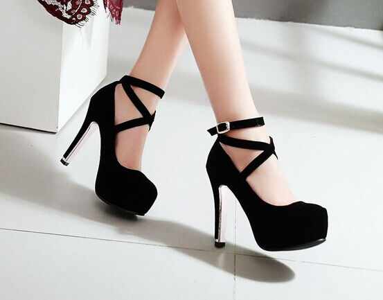 essere molto richiesto Décollte Scarpe decolte donna tacco tacco tacco e plateau 11.5 cm comode eleganti nero 9191  risparmia il 35% - 70% di sconto