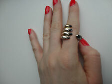 Delfina Delettrez Make Your Finger Set Silver Ring BCF411