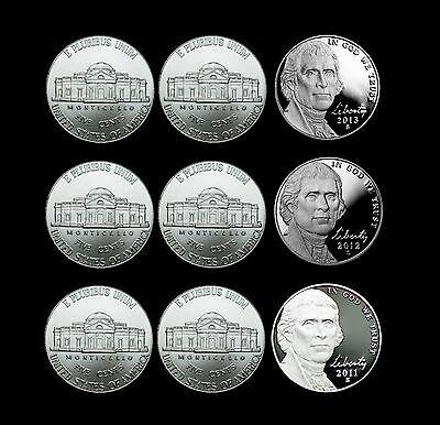 2012 P+D Jefferson Nickel Set ~ P+D Coins from Original US Mint Sets