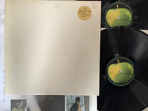 The BEATLES white album 1977 German Apple 1C17204173/74 numb Vinyl EX Cover VG+