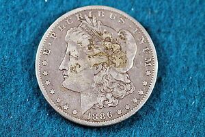Cyberspacecoins Estate Find 1886-O Morgan Silver Dollar! #C1365