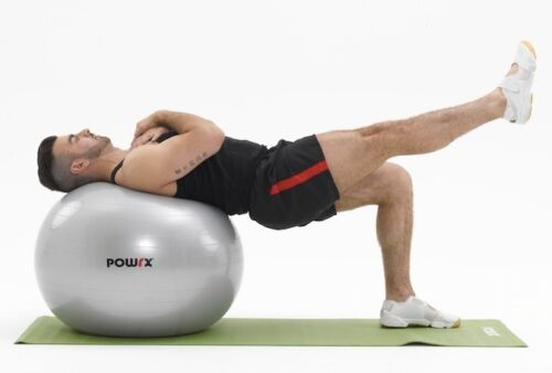 Core Stability Tone Complete Gym Ball Workout for Strength Level 1+2