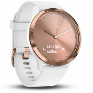 9556e8caa Image is loading Garmin-Vivomove-HR-Sport-Ladies-Smartwatch-S-M-Rose-