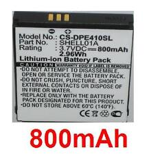 Batterie 800mAh Pour Doro PhoneEasy 409 410 605 610 611 612 type SHELL01A