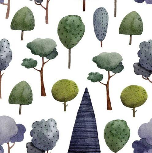 Sustancia combi single Jersey caballero combi sustancia árboles 170cm de ancho//170g//m2