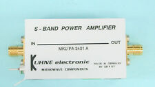 9cm Power Amplifier MKU PA 3401 A DB6NT 3400-3500 MHz, Kuhne Leistungsverstärker