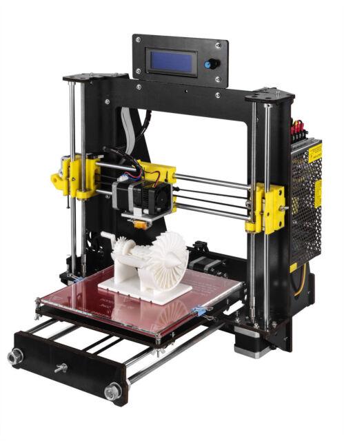 3D Printer Prusa i3 Reprap MK8 DIY Kit MK2A Heatbed LCD Controller CTC NEW