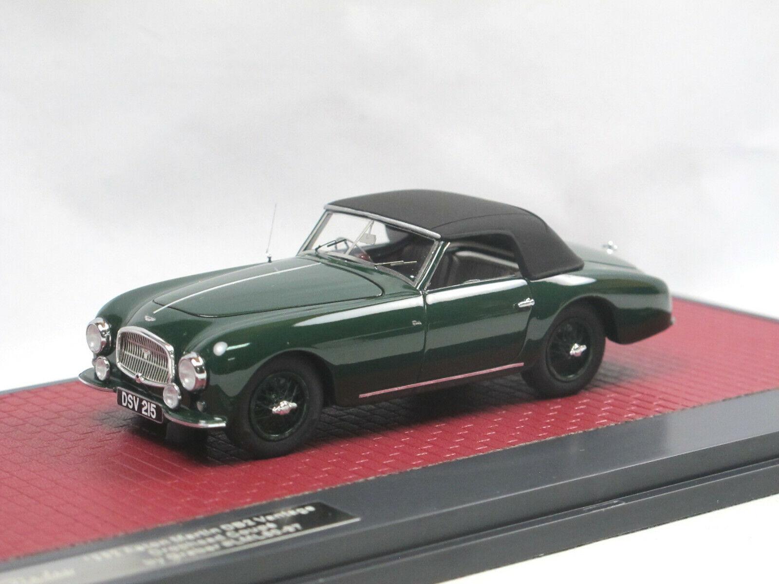 Matrix Scale Models 1952 Aston Martin DB2 Vantage DHC by Graber closed 1 43